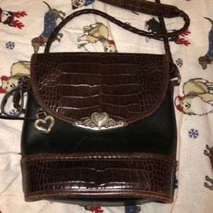Brighton Croc leather bag